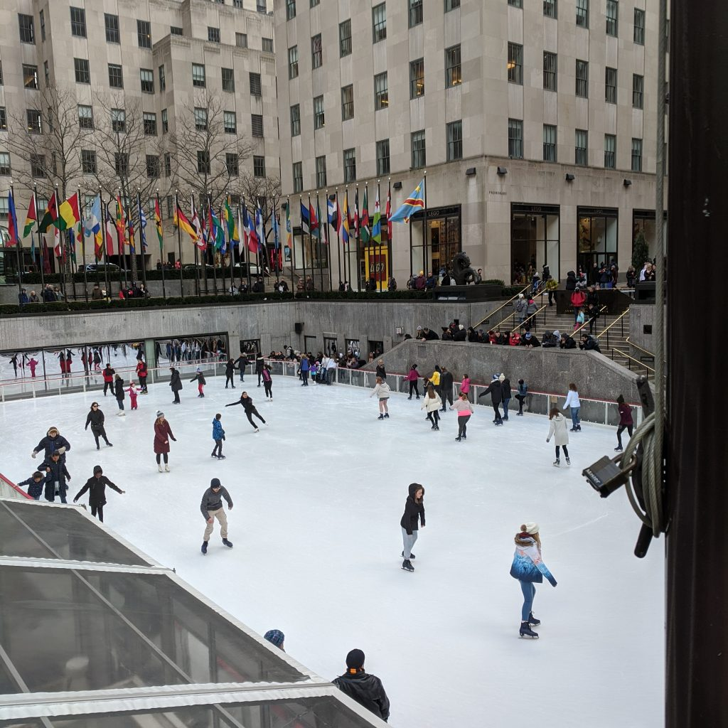 Lasting Landscapes Rockefeller Center Ice Rink